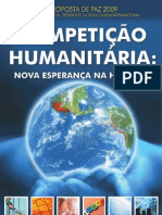 Proposta de Paz 2009 Dr. Daisaku Ikeda - Competição Humanitária, nova esperança na história