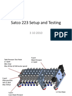 Satco223 Setup and Testing