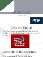 1 atomic theory