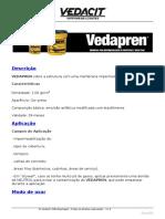 Impermeabilização Com VEDAPREN