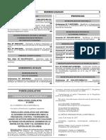 Resolución Legislativa que aprueba el Acuerdo de Cooperación para la Prevención Control y Represión del Lavado de Activos Derivados de Cualquier Actividad Ilícita entre el Gobierno de la República del Perú y el Gobierno de la República de Colombia