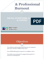 Stress and Professional Burnout