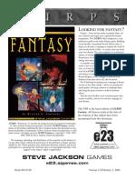 Fantasia Medieval - GURPS (4ed)