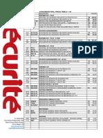 Securite Tabela 2017