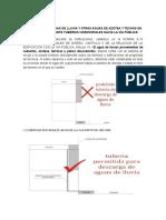 Prohibicion de Tuberias Hacia La via Publica