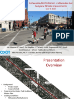 Milwaukee Ave Presentation - PDF - 2017 0509