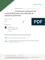 Revision Critica Del Test de Clasificacion de Cart