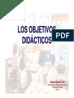 objetivos didacticos