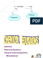 3.6 Chemical Equation Meaning
