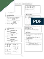 數學常用公式 (English)