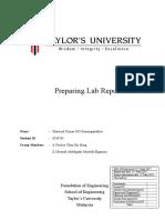 FIE Physics Lab Report 2