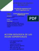 Acción Geológica de Aguas Superficiales