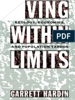 Garrett Hardin Living Within Limits Ecology, Economics, And Population Taboos (1)