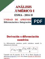 4 a UnidadDeAprendizaje04 Diferenciacion e IntegracionNumerica