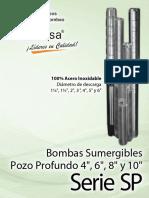 Folleto Serie Sp 4 6-8-10 Mx