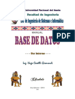 Manual Base de Datos 2010 - HCG