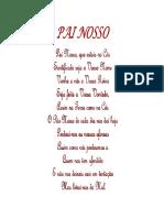 Papiro Pai Nosso