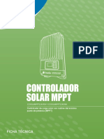 Serie Controlador Solar MPPT ISOLA Ft