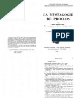 Jean Trouillard__La Mystagogie de Proclos