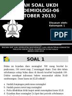 Epidemiologi (06 Oktober 2015)