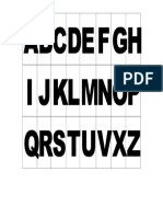 Alfabeto Móvel Da Kal