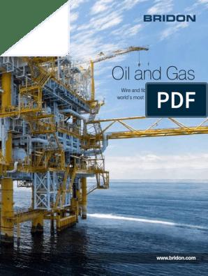 Bridon-Oil-and-Gas pdf | Rope | Crane (Machine)