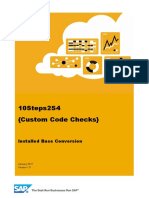 WP01 ACT CustomCode Check