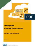 WP01 ACT CustomCode Check