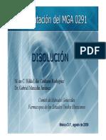 CALIBRACION DISOLUTOR