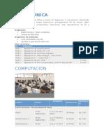 Carreras Infocal