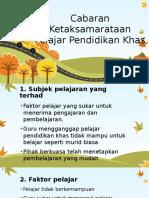 Cabaran Ketaksamarataan Pelajar Pendidikan Khas.pptx