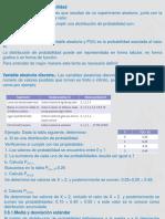 Distribuciones de Probabilidad 2
