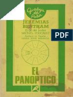 Bentham, Jeremy - El panoptico.pdf