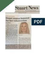 Stuart News 5.10.17 Story Re Colleen Gorman PVSA