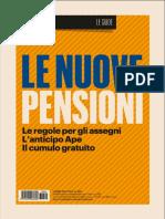 Il Sole 24 Ore - Le Nuove Pensioni - 11 Gennaio 2017