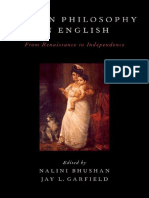 Nalini Bhushan, Jay L. Garfield Eds.__indian Philosophy in English. From Renaissance to Independence