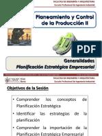 Planificación Estratégica Empresarial