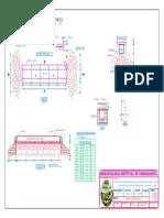 18. Plano de Obras de Arte Alcantarrila - Baden 1-Model