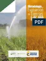 Metodología de Evaluación de Tierras.