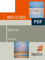 Escondida 2004