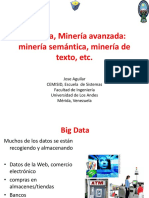 Big Data Mineria Avanzada