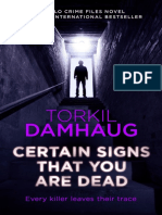 Certain Signs That You Are Dead (first chapter)