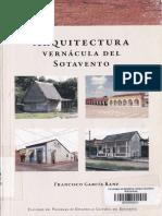 Francisco,G,R.-arquitectura Vernácula Del Sotavento