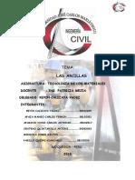 Tecnologia de Los Materiales Las Arcilla
