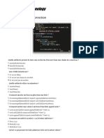QCM JavaScript Avec Correction _ Professional Technology