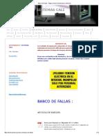 Banco de Fallas - Página Jimdo de Electronica y Sistemas
