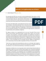 La Consulta Previa y Su Aplicación en El Perú