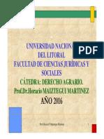 MAIZTEGUI, Arrendamientos Rurales Octubre 2016 Con Nuevo Código