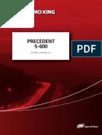 PRECEDENT S-600 55522-2-PM Rev 2.2