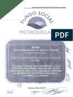 Bases iniciales LP N°03-2017-CE-FSM Construcción del Cerco perimétrico I. E Quinuamayo Alto
